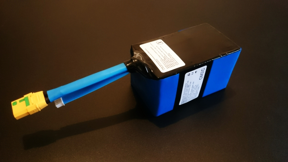 UAV/Drone battery pack 4S6P 60A NCR18650GA