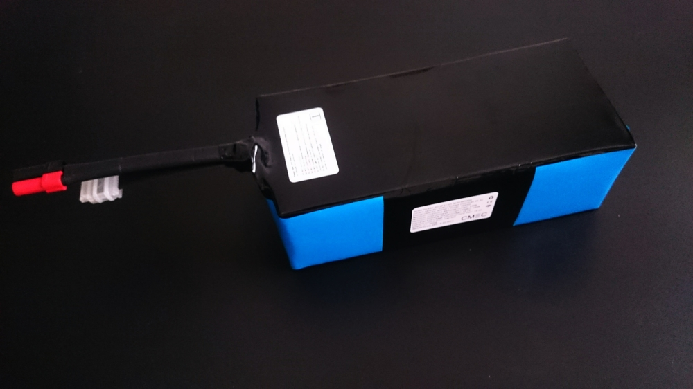 6S12P 120A NCR18650GA battery pack